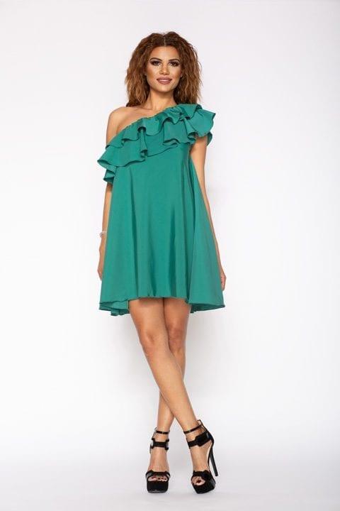 Rochie Eleganta Innab Charisma Verde 1