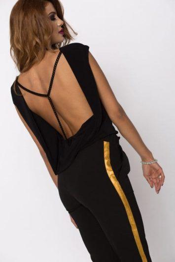 Bluza Dama Neagra Cu Lant Yana 2
