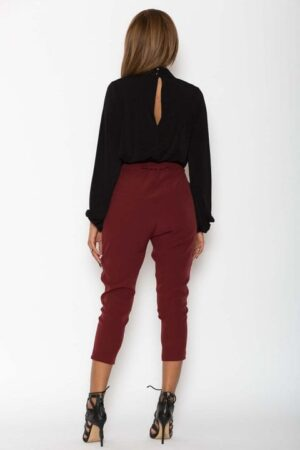 Pantaloni Dama Katias Bordo 3