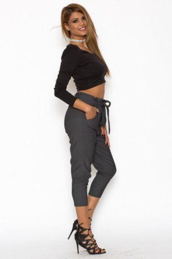 Pantaloni Dama Katias Gri 2