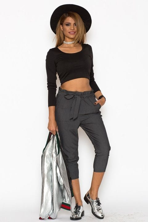Pantaloni Dama Katias Gri 4