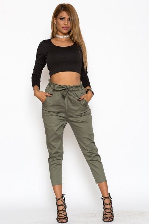 Pantaloni Dama Katias Kaki 2
