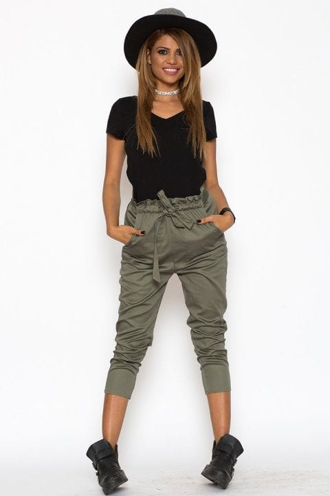 Pantaloni Dama Katias Kaki 4