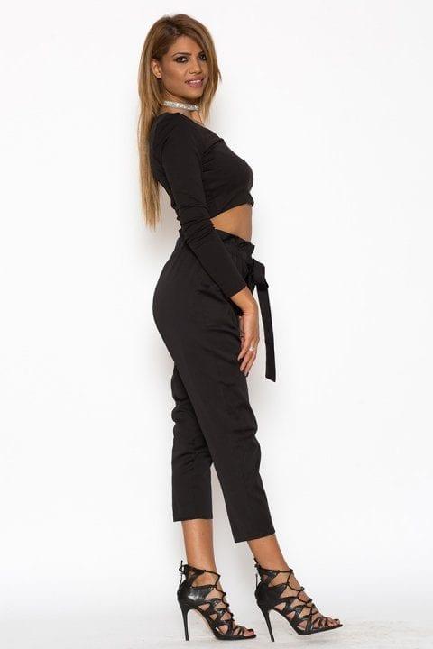 Pantaloni Dama Katias Negru 3