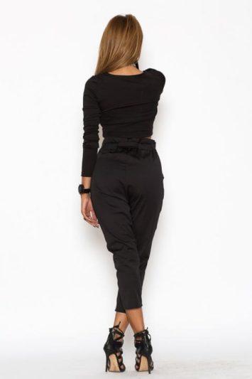 Pantaloni Dama Katias Negru 4