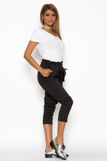 Pantaloni Dama Katias Negru 5