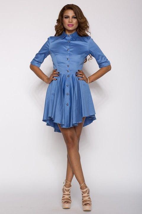 Rochie Eleganta X Bleu 2