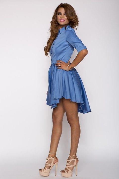 Rochie Eleganta X Bleu 4