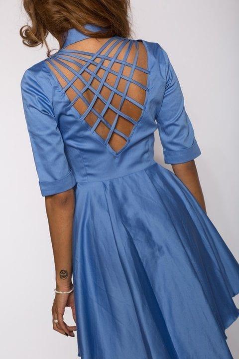 Rochie Eleganta X Bleu 5