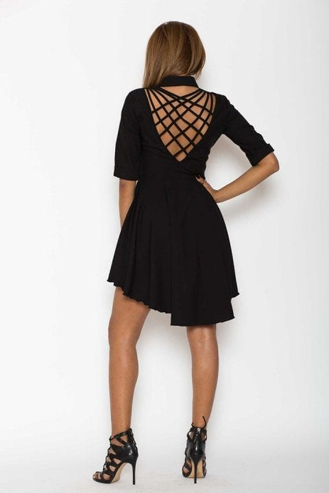 Rochie Eleganta X Neagra 2