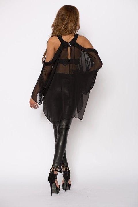 Bluza Dama Raven Neagră 2