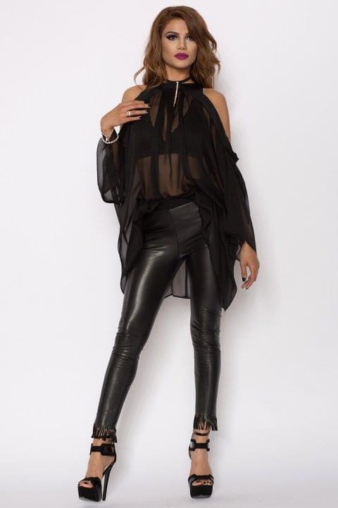 Bluza Dama Raven Neagră 4