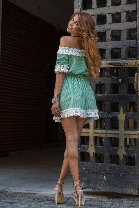 Rochie Casual Silvie Verde