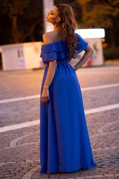 Rochie De Seara Heaven Albastra 3