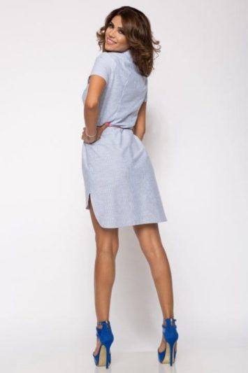 Camasa dama tip rochie Tess in dungi 3