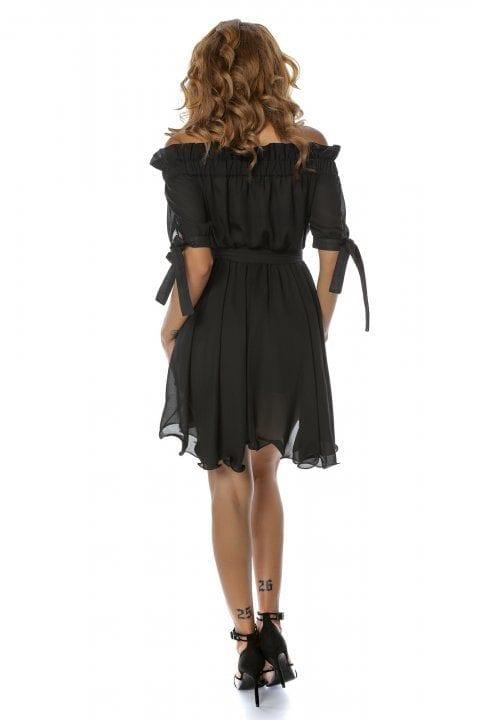 Rochie Eleganta Carina Neagra 2