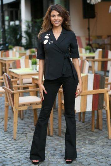 Sacou Dama Sandra Negru 3