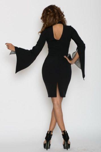 Rochie De Seara J'adore Neagra 5