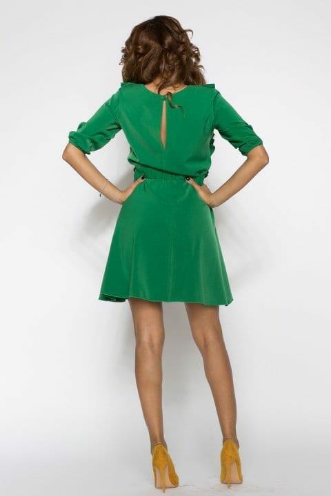Rochie De Zi Carolina Verde 3