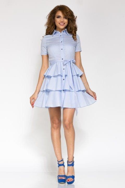 Rochie De Zi Cybill Bleu 3