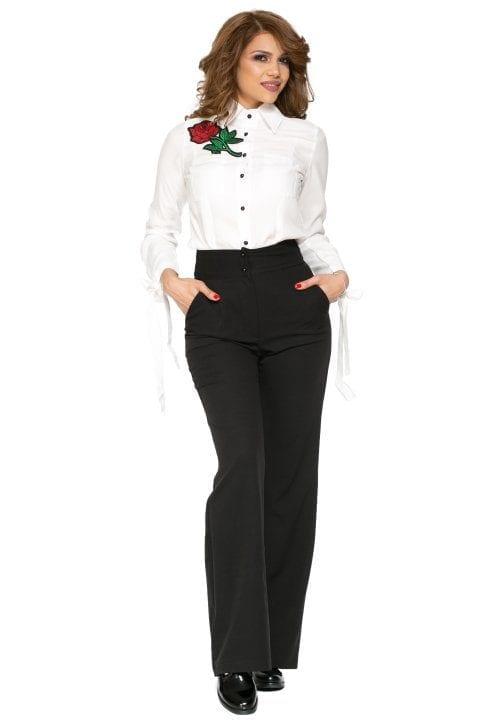Pantaloni Dama Drepti Eleganti Office Goldie 3