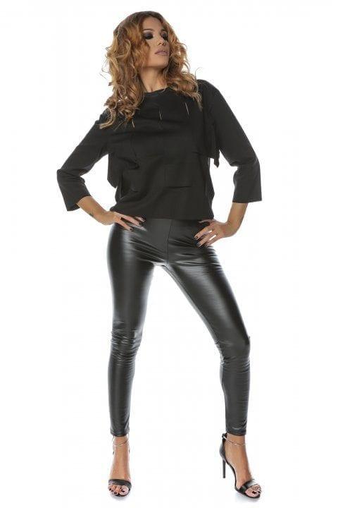 Bluza Dama Casual Neagra Clary 2