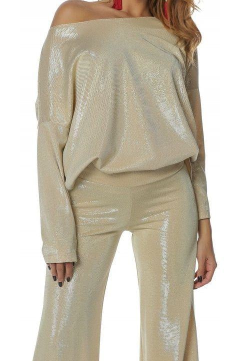 Pantaloni Dama Aurii Magnifieque 3