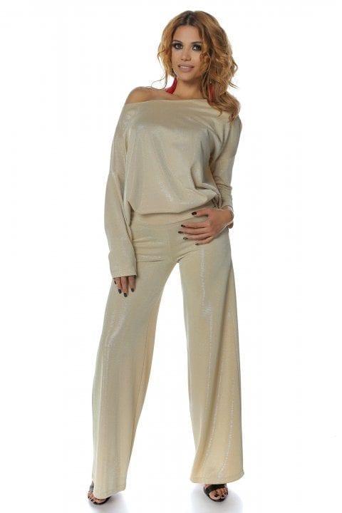 Pantaloni Dama Aurii Magnifieque 4