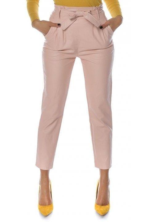 Pantaloni Dama Piele Eco Nayan Roz 2