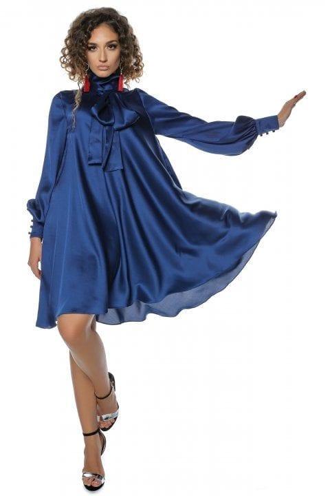 Rochie Eleganta Albastra Clos Anyela 2