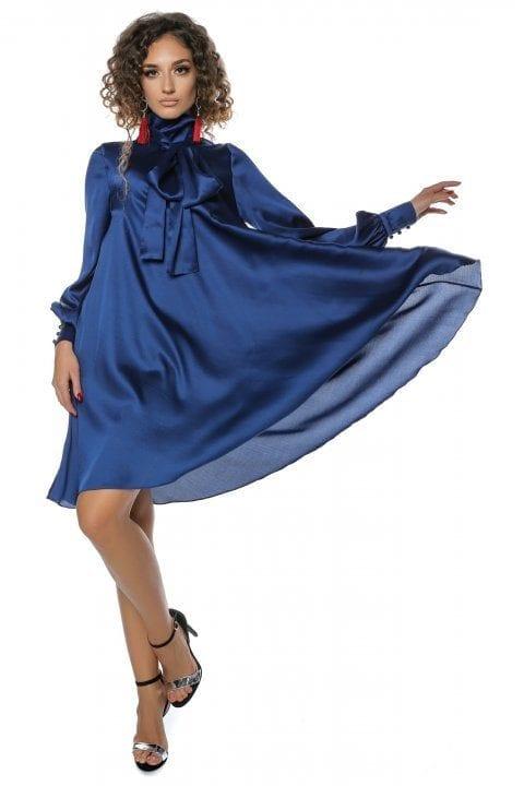 Rochie Eleganta Albastra Clos Anyela 3