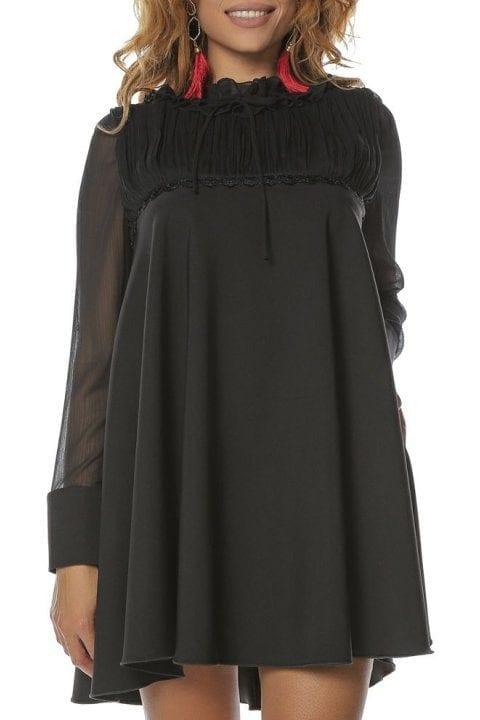 Rochie Eleganta Neagra Semiclos Anabella