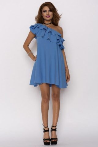 Rochie eleganta Charisma albastra
