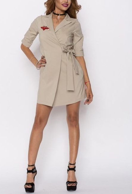 Rochie casual AVE nude