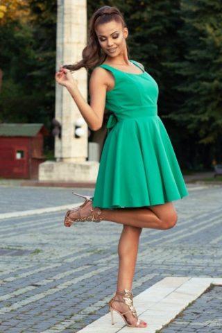 Rochie de seara PATRICIA verde