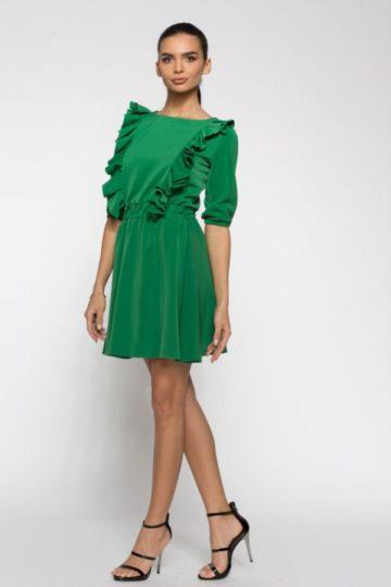 Rochie de zi Carolina verde