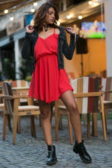 Rochie casual Ami rosie