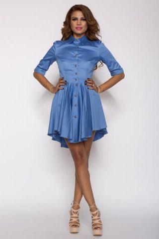 Rochie eleganta X bleu