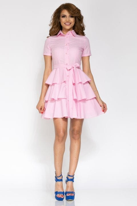 Rochie de zi CYBILL roz