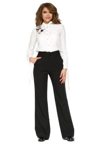 Pantaloni dama drepti eleganti office Goldie