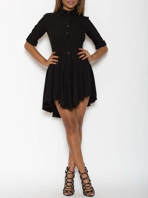 Rochie eleganta X neagra