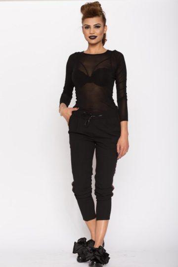 Bluza dama casual Aimee neagra