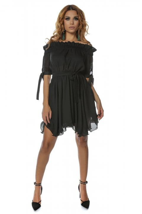 Rochie eleganta Carina neagra