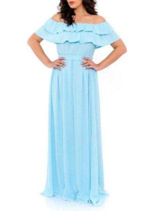 Rochie De Seara Lunga Heaven Blue 2 480x719