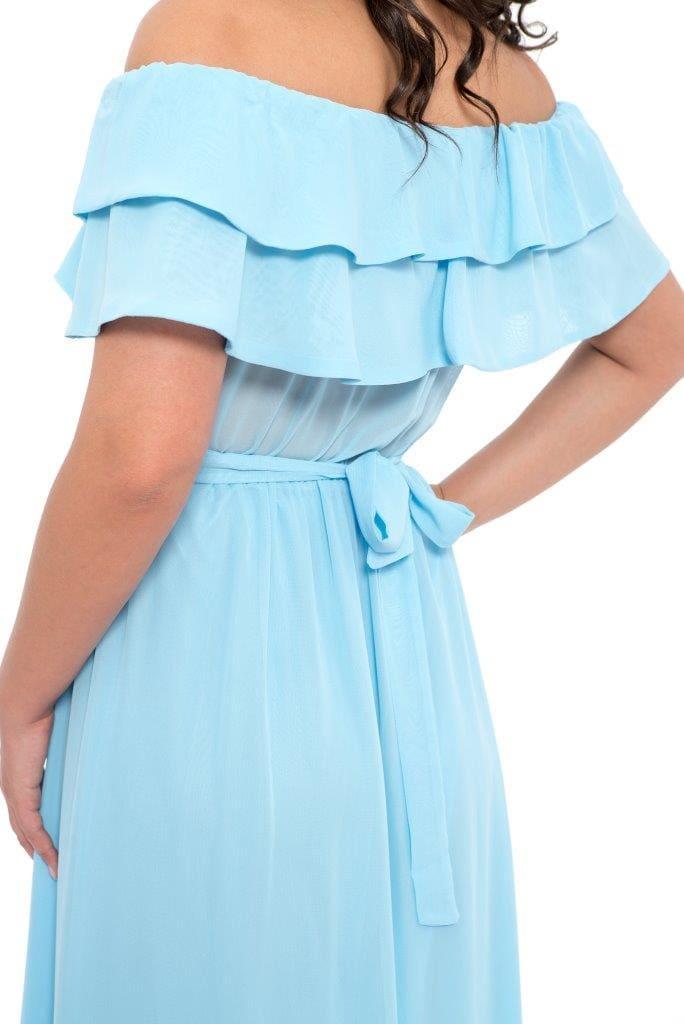 Rochie De Seara Lunga Heaven Blue