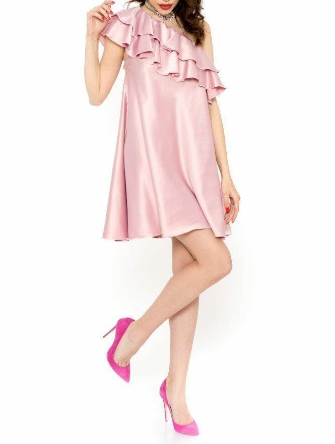 Rochie Eleganta Charisma Roz Prafuit (2)