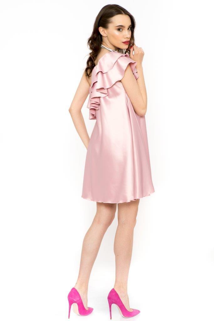 Rochie Eleganta Charisma Roz Prafuit (3)