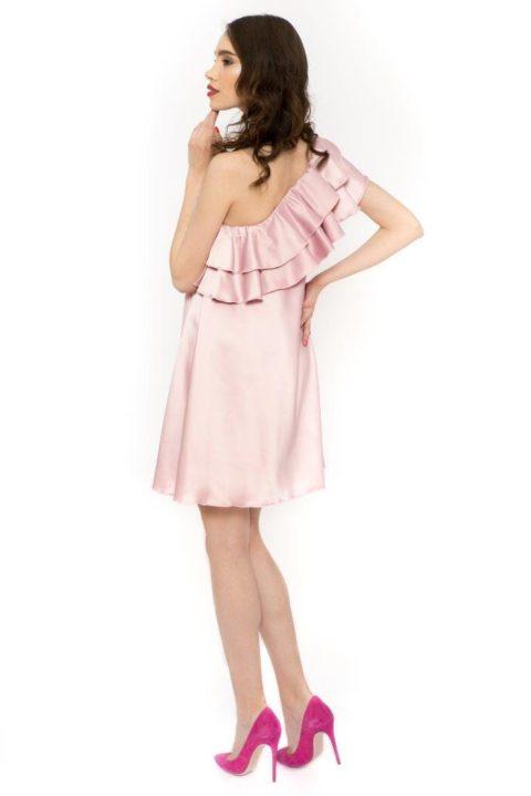 Rochie Eleganta Charisma Roz Prafuit (5)