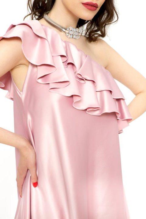 Rochie Eleganta Charisma Roz Prafuit (9)